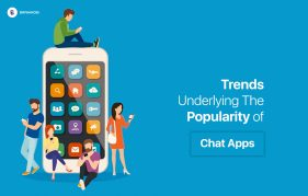 Trends Underlying The Popularity of Chat Apps