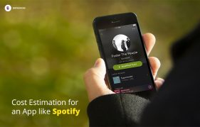 Cost Estimation for an App like Spotify