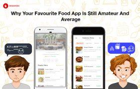 food app banner