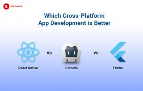 React Native. Cordova, FLutter