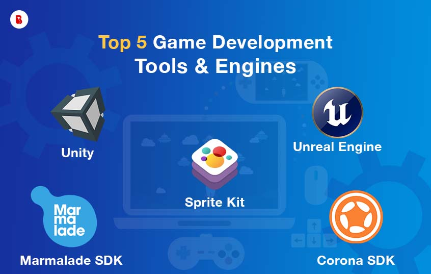 Top 5 Game Development Tools And Engines