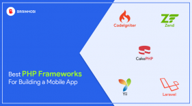 PHP framework for mobile app